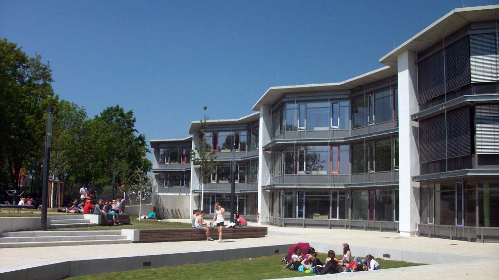 Käthe-Kollwitz-Gesamtschule Gebäudeansicht