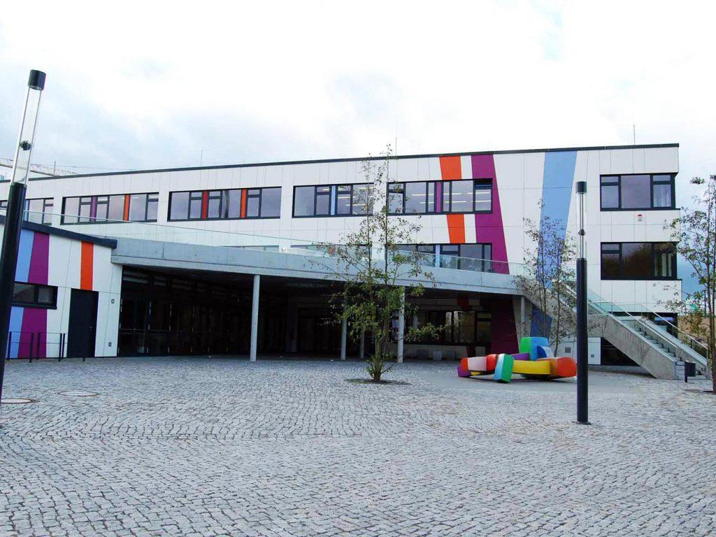 Käthe-Kollwitz-Gesamtschule Eingang