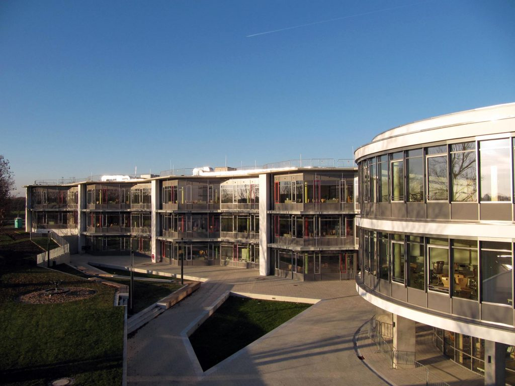 Käthe-Kollwitz-Gesamtschule Glasfront