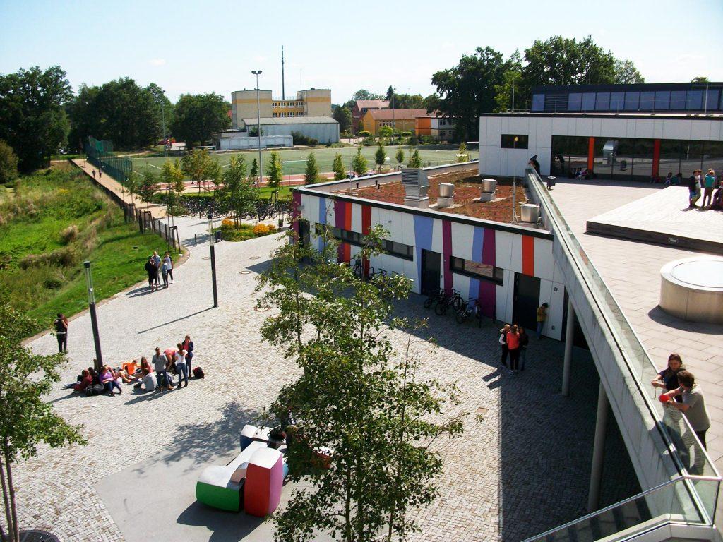 Käthe-Kollwitz-Gesamtschule obere Terrasse